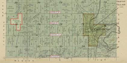 cedarburg twnshp plat 1915 LOC Wm Lueder frm3