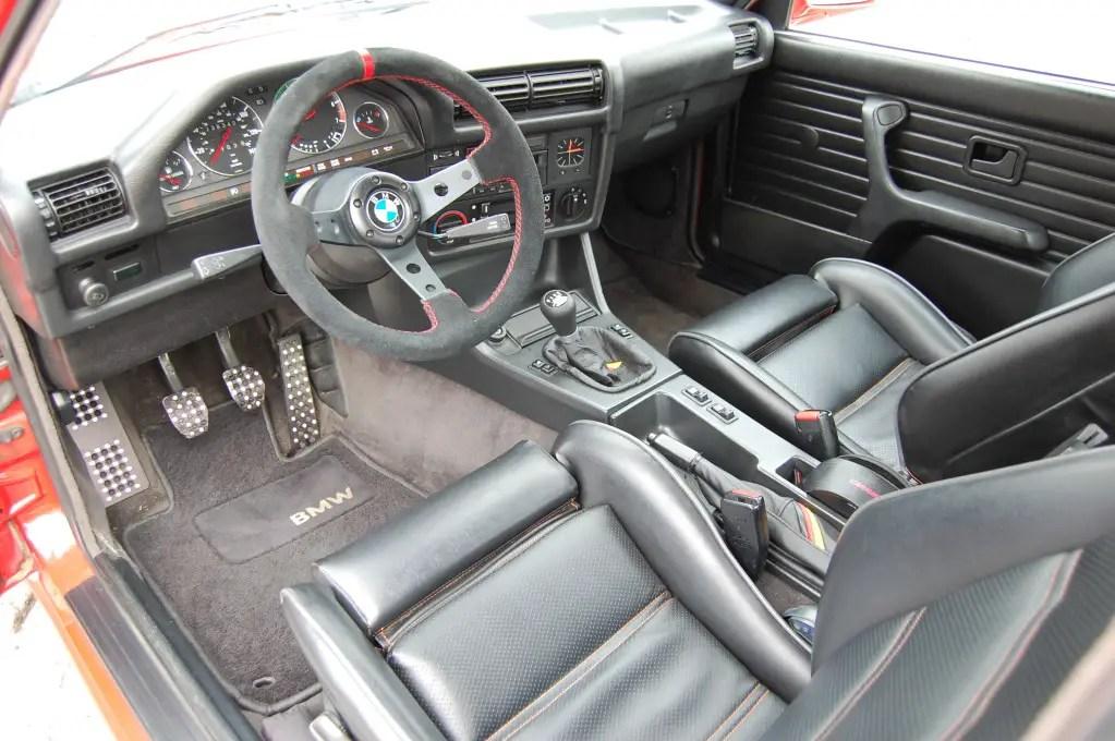 84 BMW 325 E30 Interior II German Cars For Sale Blog
