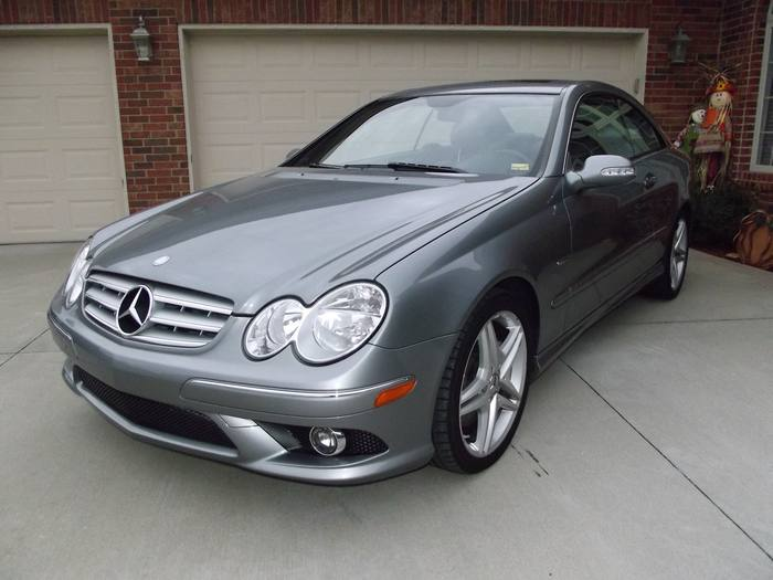 2009 mercedes benz clk350 coupe grand edition german for Mercedes benz clk 2012