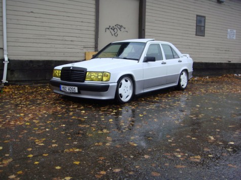 Custom 1989 Mercedes 190e 2 6 To 3 0 German Cars For