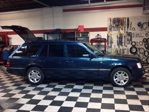 1995 mercedes e320 with c36 swap german cars for sale blog. Black Bedroom Furniture Sets. Home Design Ideas