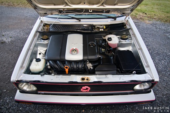 1983 VW Rabbit with 2.5L swap – German Cars For Sale Blog