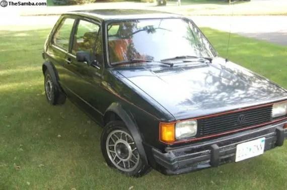 1984 volkswagen rabbit gti german cars for sale blog. Black Bedroom Furniture Sets. Home Design Ideas