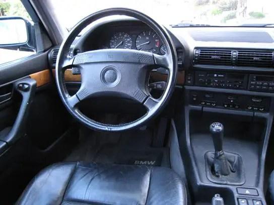 1988 bmw 735i 5 speed manual german cars for sale blog. Black Bedroom Furniture Sets. Home Design Ideas