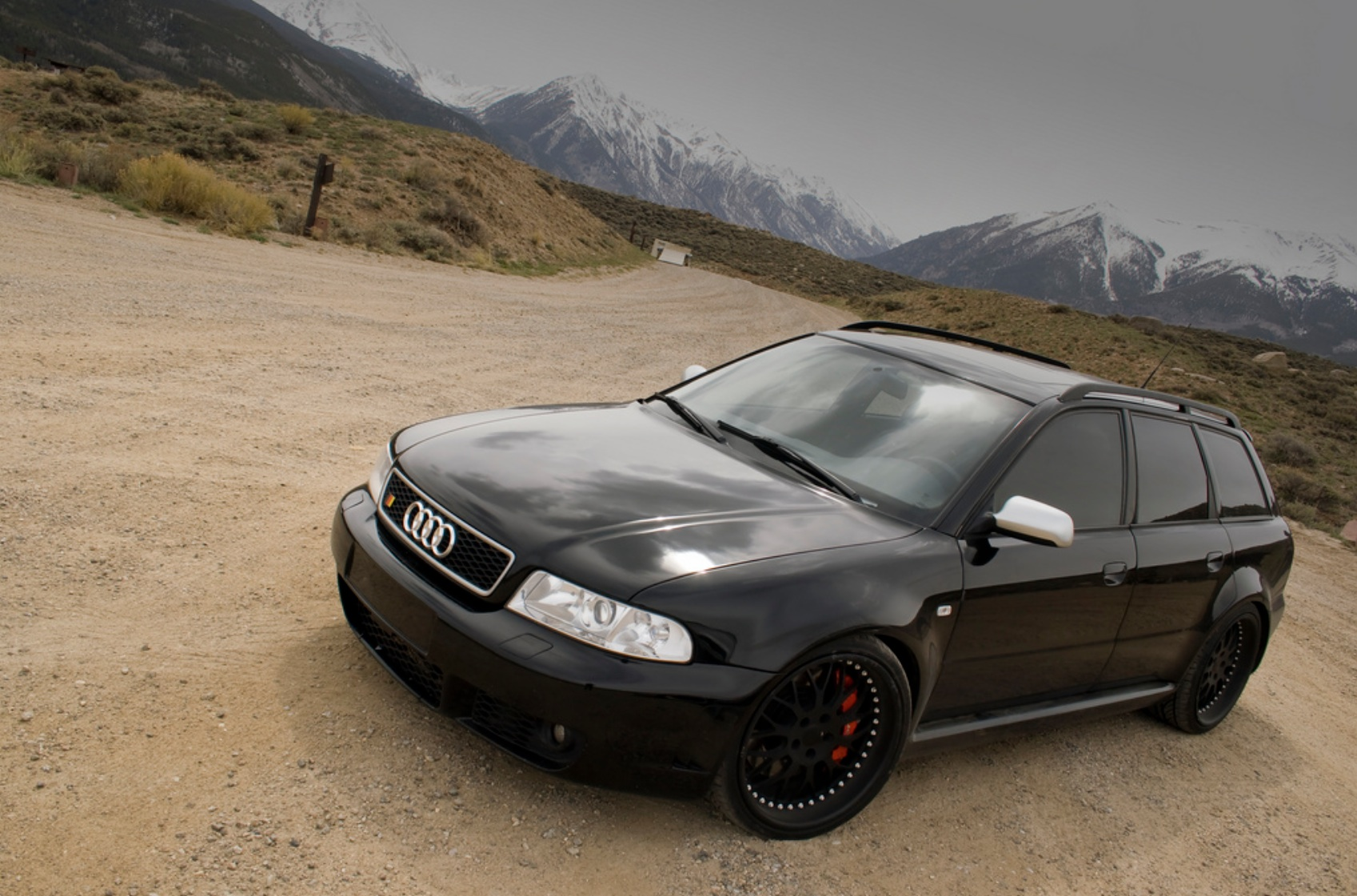 2001 Audi S4 Avant (RS4 Conversion)