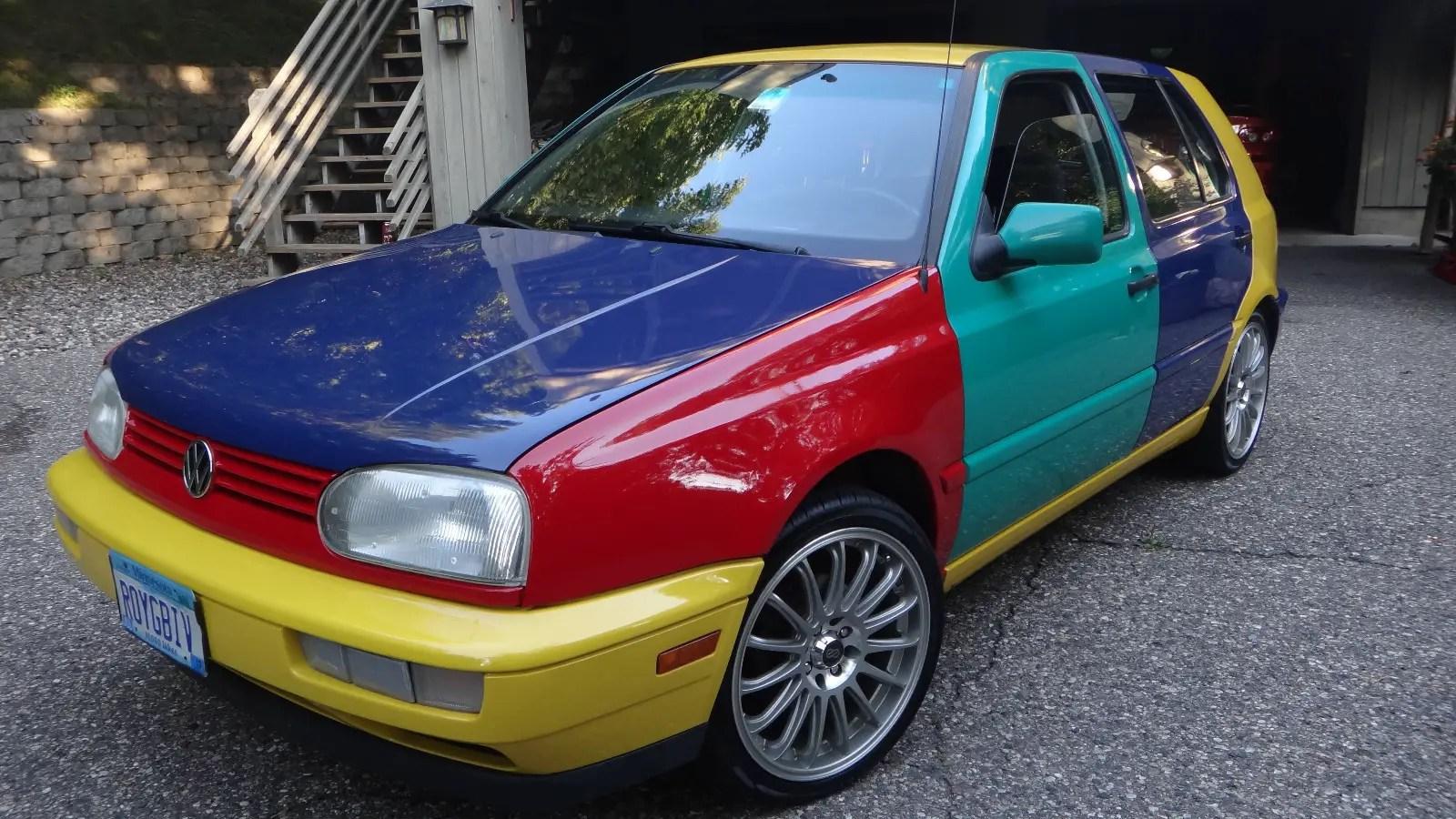 volkswagen golf harlequin german cars  sale blog
