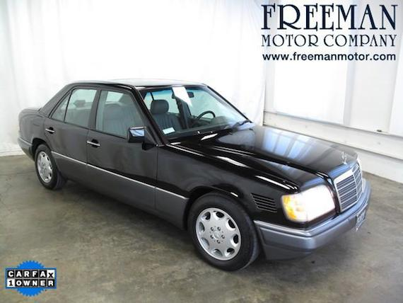 1995 mercedes benz e300 diesel with 70k miles german