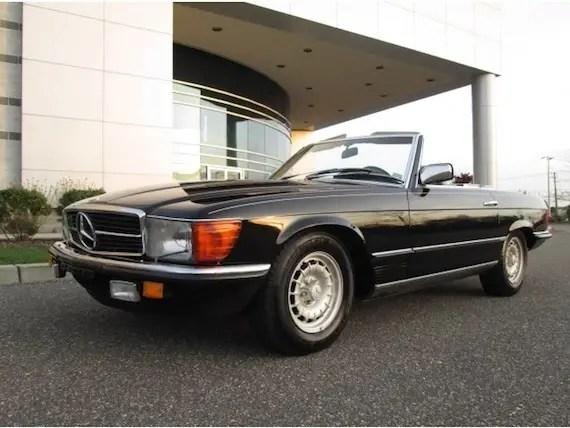 1985 mercedes benz 500sl german cars for sale blog for Mercedes benz 500 sl for sale