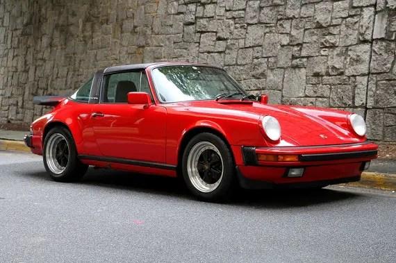 1987 Porsche 911 Carrera Targa  U2013 German Cars For Sale Blog
