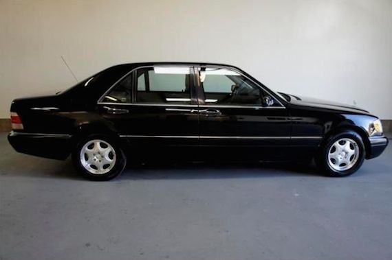Ministerial transport 1997 mercedes benz s420 1995 for 1997 mercedes benz s320