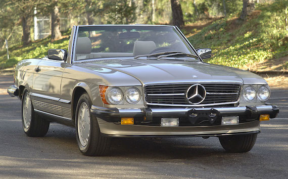 Permalink to 1987 Mercedes Benz 560sl
