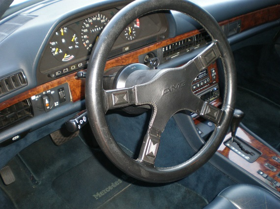 Tuner tuesday 1984 mercedes benz 500sec amg german cars for Mercedes benz steering wheel for sale