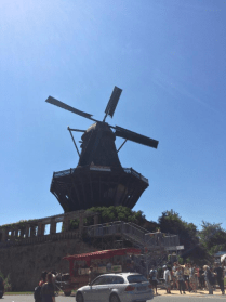 Historical windmill in Park Sanssouci