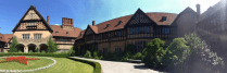 Schloss Cecilienhof, home of the Potsdam conference, and Germany's last Crown Prince