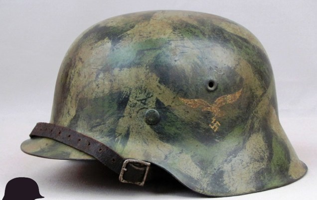 M1942-Luftwaffe-German-Helmet-2636-left