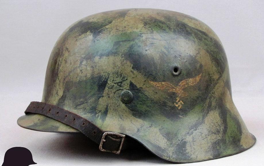 M1942-Luftwaffe-German-Helmet-2636-left