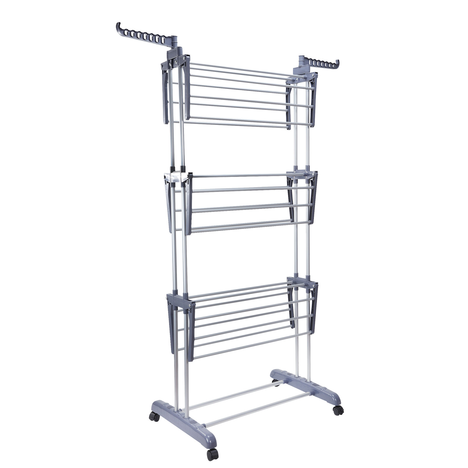 Foldable 6 Tiers Clothes Airer Indoor Laundry Drying Rack