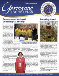 Germanna Foundation Newsletter, June 2014