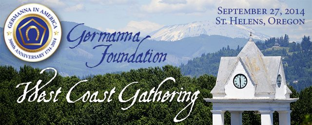 Germanna West Coast Gathering