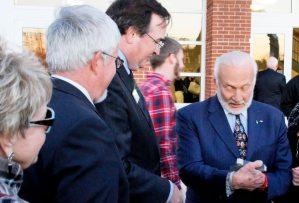 Steve Hein, Marc Wheat, Buzz Aldrin