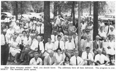 1957 Germanna Reunion Picnic