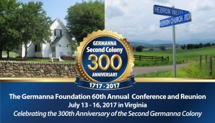 Germanna Foundation 60th Reunion