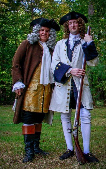 Gov Alexander Spotswood and John Fontaine