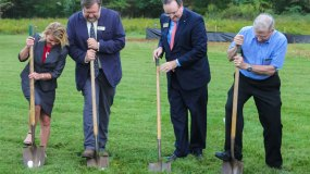 Germanna Foundation Holds Ground-Breaking Ceremony for the New Hitt Archaeology Center