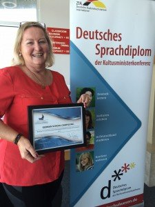 GERMAN SCHOOL campus received Membership from Newport Beach Chamber of Commerce