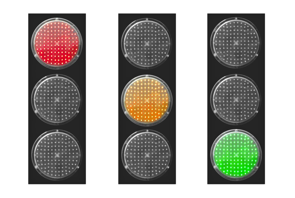 Red light green light for dogs