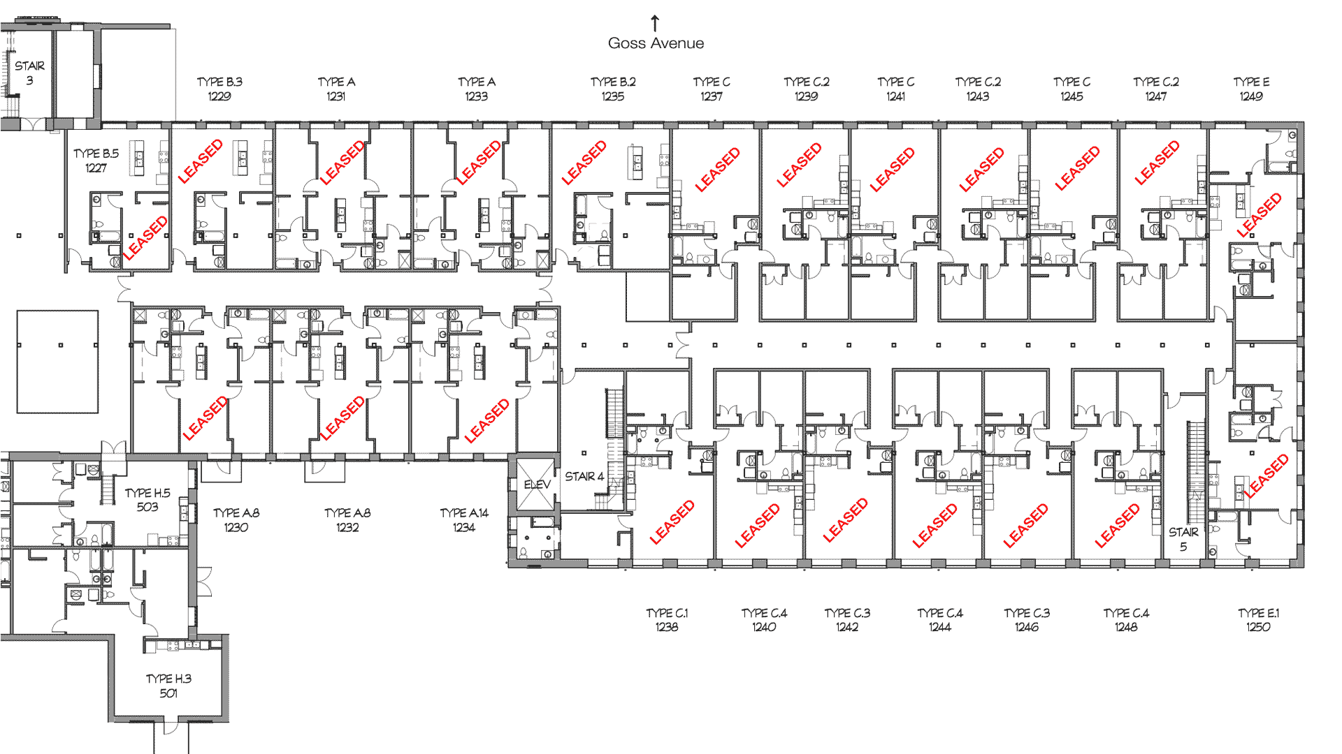 GML Mill Building | Phase 1 | Second Floor