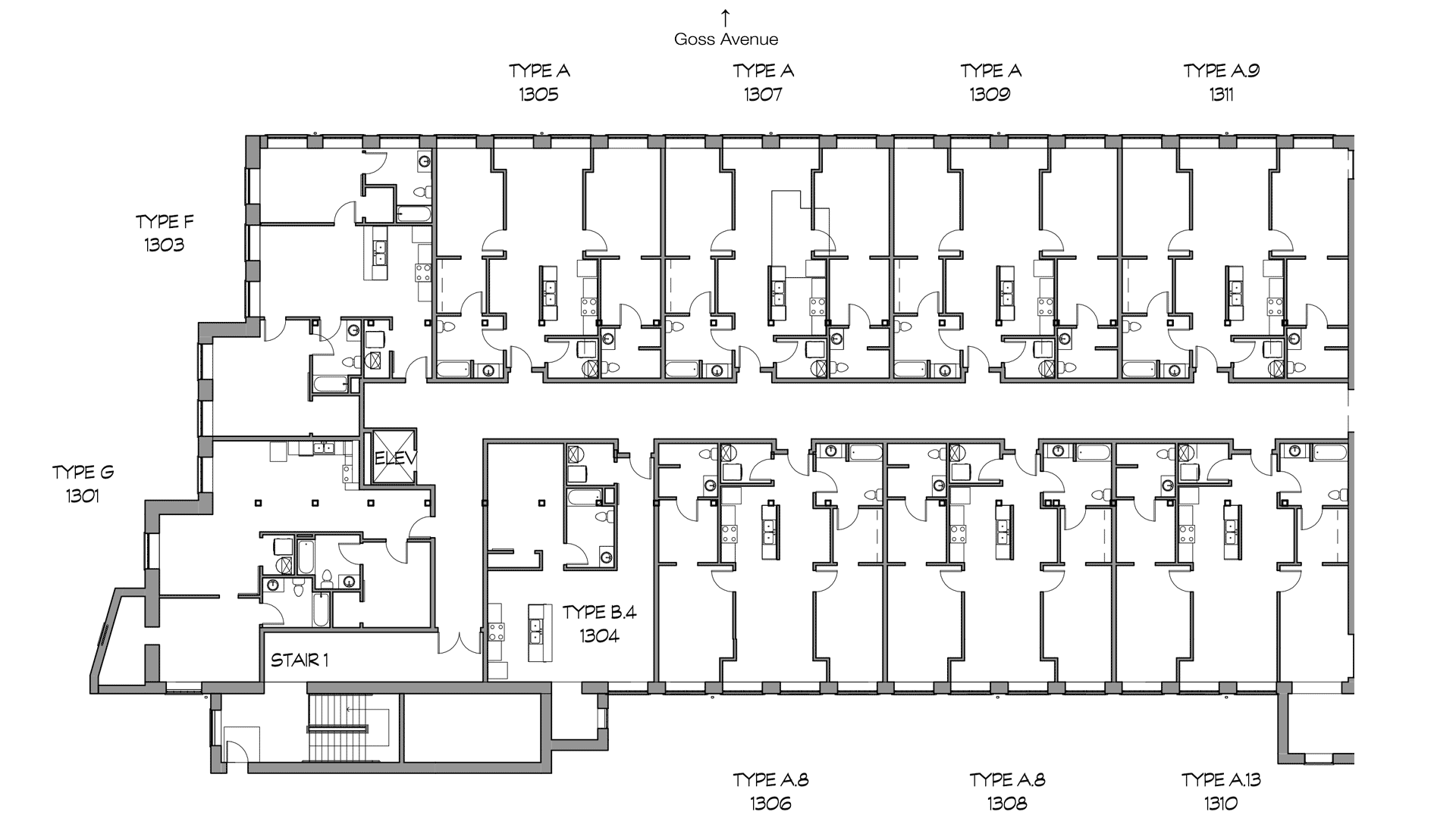 GML Mill Building | Phase 3 | Third Floor