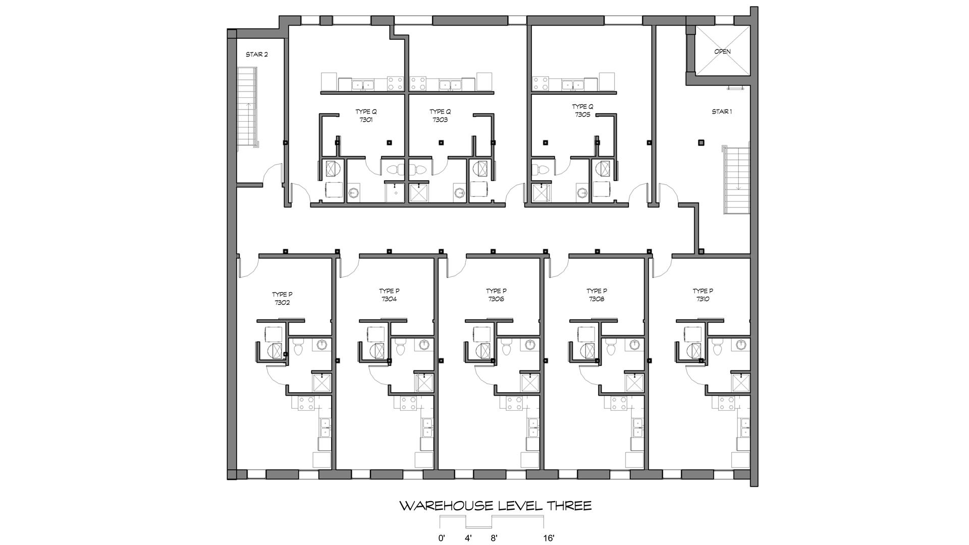 GML Warehouse Building Level Three