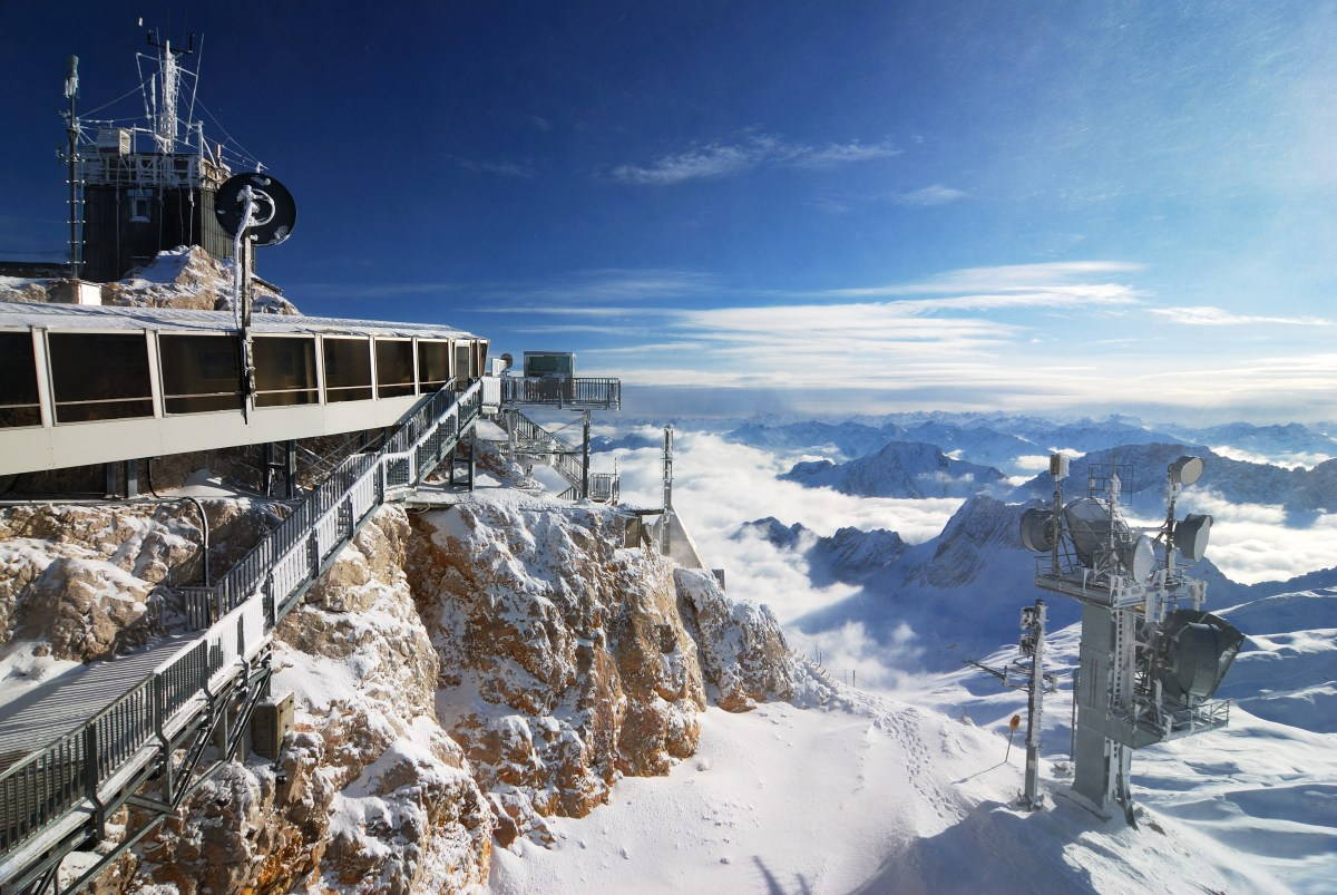 Germany's Tallest Mountain Opens New Cable Car