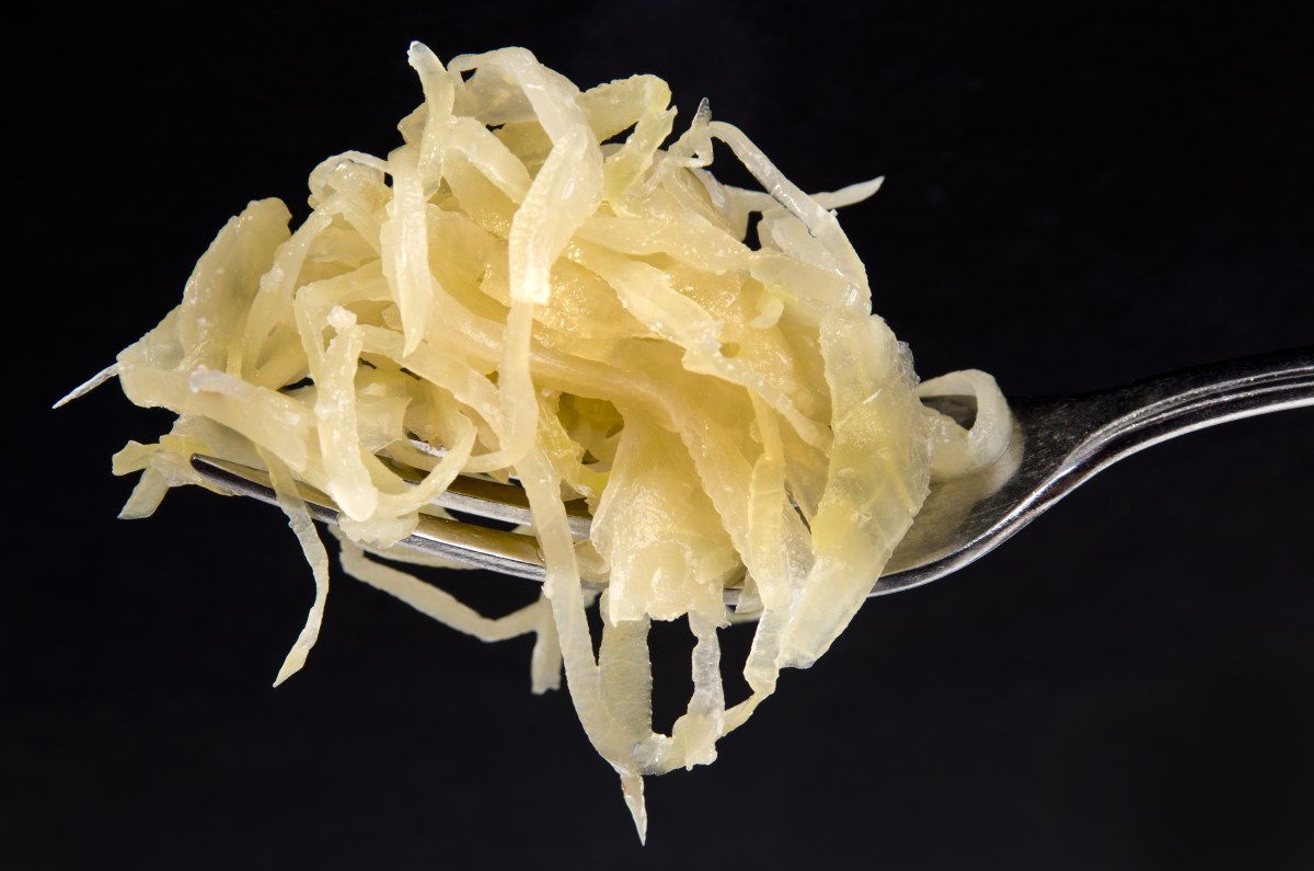 Sauerkraut: Germany's cuisine for colder months