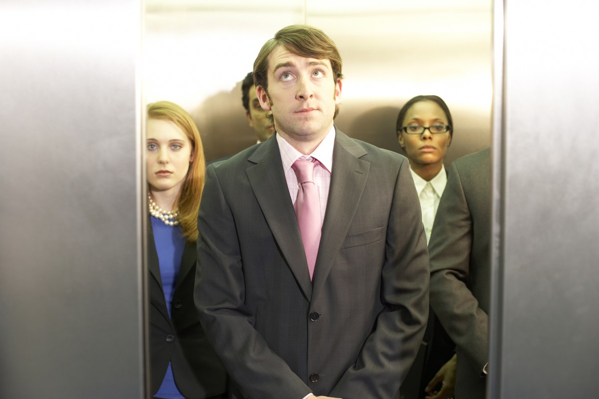 6 easy steps to survive elevator small talk in Germany