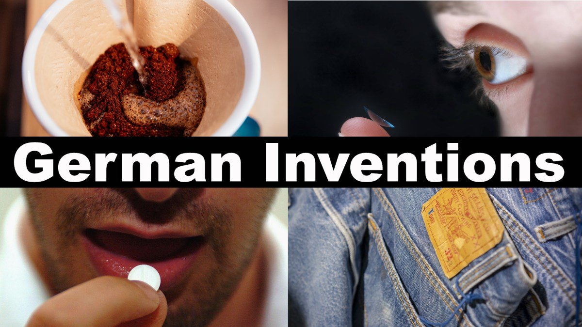 Did you know these everyday objects were invented in Germany?
