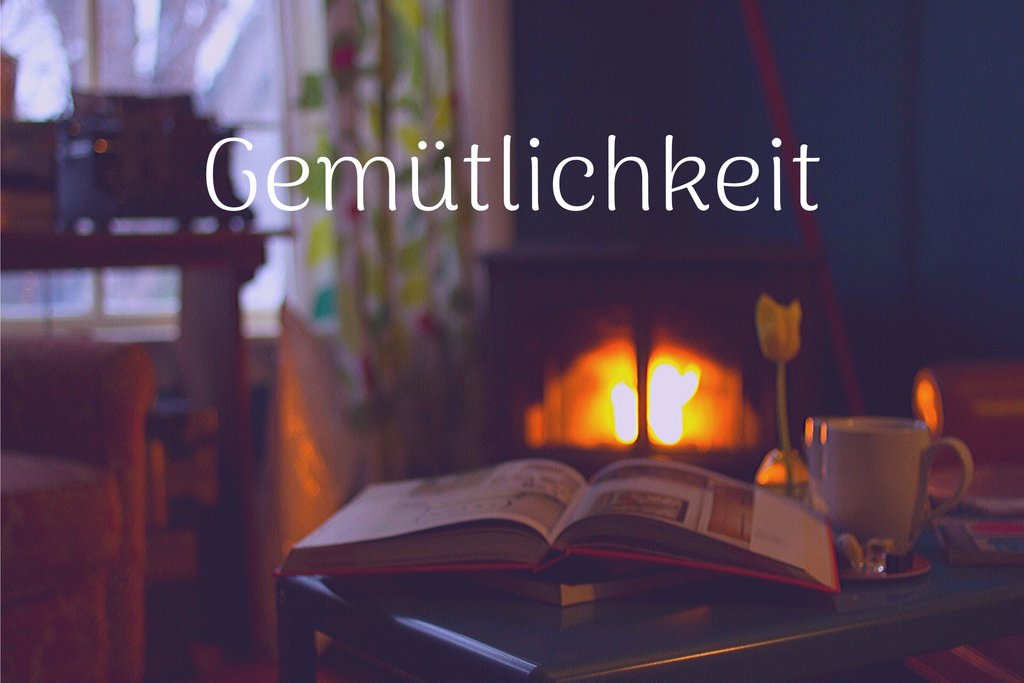 Gemütlichkeit: how Germans find coziness while home alone.