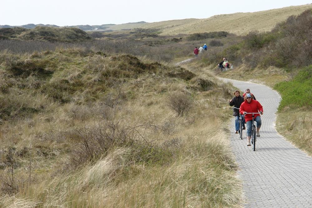 Cycling on langeoog