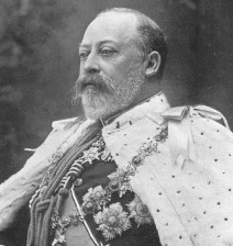 King Edward VII of England