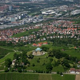 For walks and wine tastings: Untertürkheim neighbourhood just outside Stuttgart