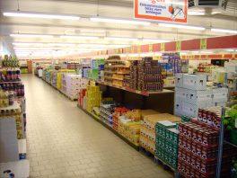 Aldi shop floor