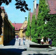 Augsburg Fuggerei almshouses