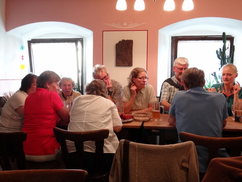 Conviviality is the name of the game at Zum Roud'n