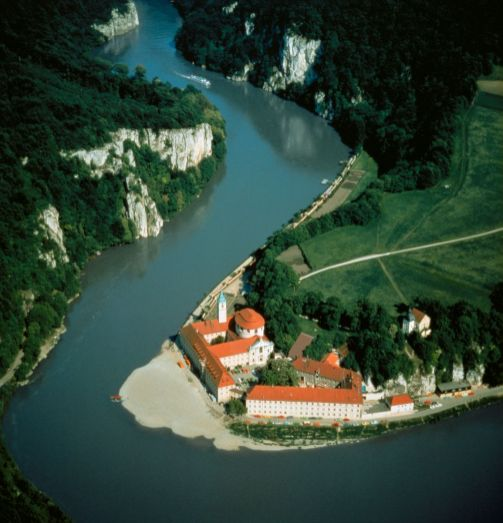 Danube at Weltenburg Monastery Bavaria