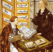 Jakob Fugger does his accounts, painting, Augsburg