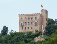 Castles in Germany: Hambach Castle Neustadt