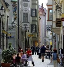 Obere Backgasse Regensburg narrow streets