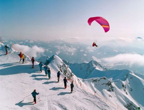 Skiing in Germany: Nebelhorn Oberstdorf