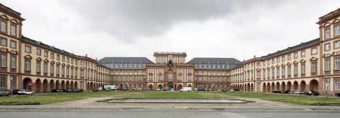 Mannheim's Baroque castle, housing one of Germany's best universities